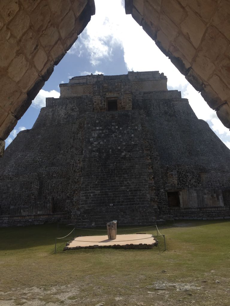 Visiting the Mayan community and its temples