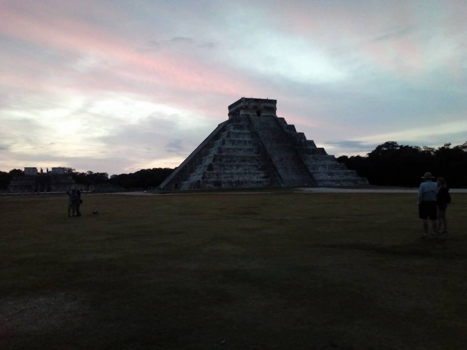 Discovering the Sunrise at Chichen Itza